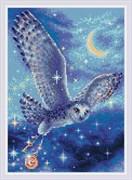 Набор алмазной мозаики  Волшебная сова