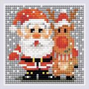 Набор алмазной мозаики  Санта-Клаус