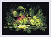 Набор алмазной мозаики  Натюрморт с лимоном
