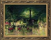 Набор для вышивания  Бастилия , по мотивам картины К. Коровина
