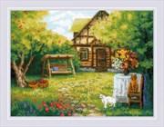 Набор для вышивания  Загородный домик