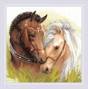 Набор для вышивания  Пара лошадей