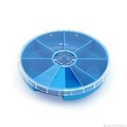 Органайзер круглый (ассорти, цвета: зелёный, синий, красный)