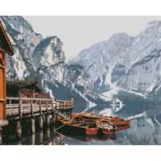 Набор для рисования по номерам 'Озеро в Канаде' 40*50см