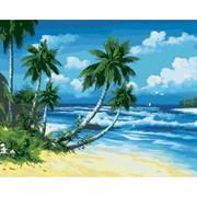 Набор для рисования по номерам 'Солнечный берег' 40*50см