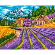 Набор для рисования по номерам 'Альпийская деревня' 40*50см