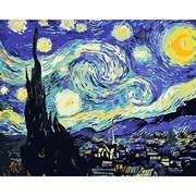 Набор для рисования по номерам 'Звездная ночь' 40*50см