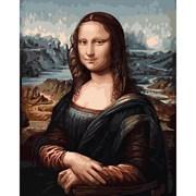 Набор для рисования по номерам 'Мона Лиза' 40*50см
