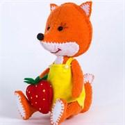 """Набор для создания игрушки из фетра из серии """"Детки"""", """"Лисичка"""", высота сидя 11,5 см"""