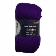 Пряжа Astra Premium Галатея 100% акрил темно-фиолетовый