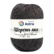 Пряжа Astra Premium Шерсть яка 25% шерсть яка, 50% шерсть, 25% фибра серо-коричневый