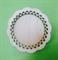 Тарелочка с резным краем  ( два кольца) 10см. 4 мм. - фото 19403